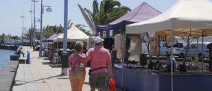 "Markt am ""Charco de San Ginés"" in Arrecife"