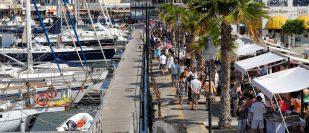 Markt im Yachthafen Marina Rubicón