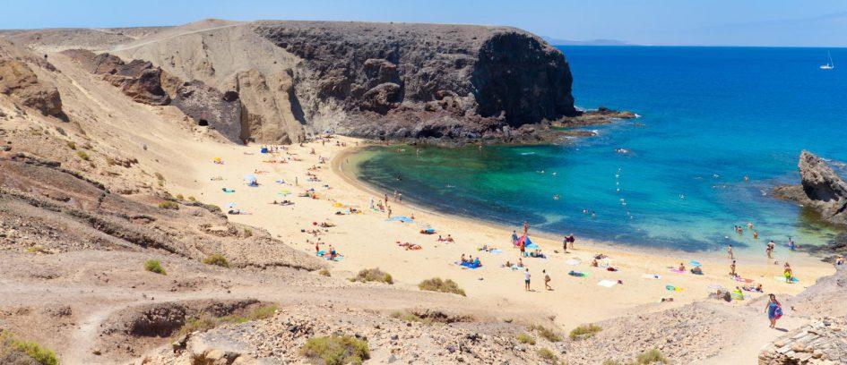Playa de Papagayo, Playa Blanca